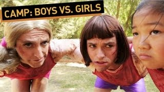 CAMP: Boys vs Girls