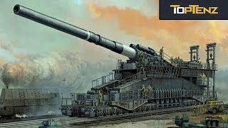 Top 10 FAMOUS and Notorious GUNS from History