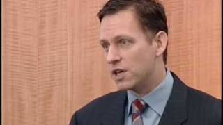 Peter Thiel's four theories on the bubble and bust economy
