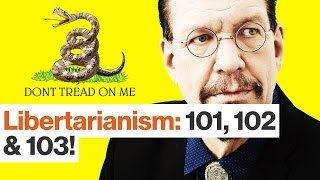 Penn Jillette on Libertarianism, Taxes, Trump, Clinton and Weed | Best of '16