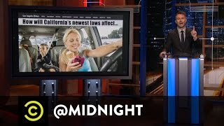 California's New Laws - @midnight with Chris Hardwick