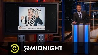 Martin Luther King Day - The FBI's Surprising Reversal - @midnight with Chris Hardwick