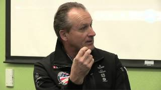 "Andre Borschberg & Bertrand Piccard, ""Around the World in a Solar Airplane"" 