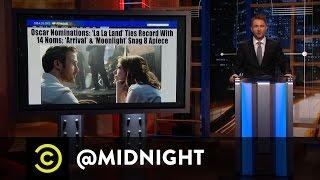 #OscarsSoLaLa - @midnight with Chris Hardwick