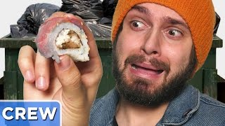 Eating Dumpster Sushi | Good Mythical Crew Ep. 45
