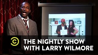 The Nightly Show -  Professor Mike Yard Explains Blackface - Uncensored