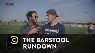 The Barstool Rundown: Live from Houston - Johnny Football's Comeback