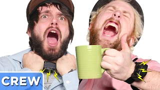Shock Collar Tea Party | Good Mythical Crew Ep 46