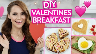 DIY VALENTINES DAY BREAKFAST IDEAS!