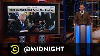Donald Trump's Misguided White House Tours - @midnight with Chris Hardwick