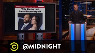 "Family-Friendly ""Fifty Shades Darker""  - @midnight with Chris Hardwick"