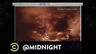 Jonah Ray, Emily V. Gordon and Kumail Nanjiani - You News, You Lose - @midnight with Chris Hardwick