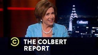 The Colbert Report - Nancy Pelosi Interview