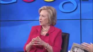 Hillary Clinton Fireside Chat | Talks at Google