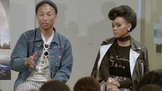 "Pharrell Williams & Janelle Monae: ""Hidden Figures"" 