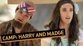 CAMP: Harry and Madge