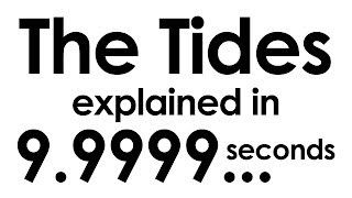 The Tides explained in ten seconds