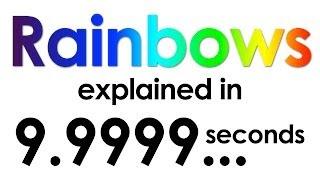 Rainbows explained in ten seconds