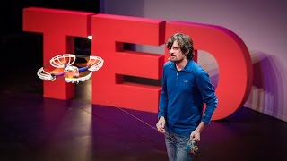 Sergei Lupashin: A flying camera ... on a leash