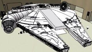 Real Millennium Falcon -- BiDiPi #26