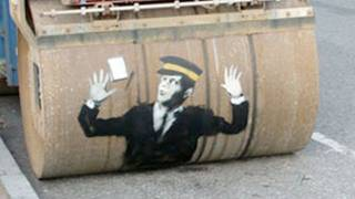 Amazing STREET ART -- Vsauce2 Leanback #1