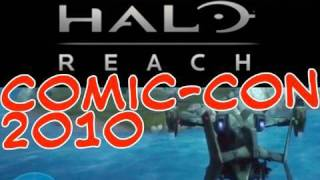 COMIC-CON 2010: Halo: Reach Exclusive HD Footage - Forge World Beyond the Canyon, LE Xbox and more.