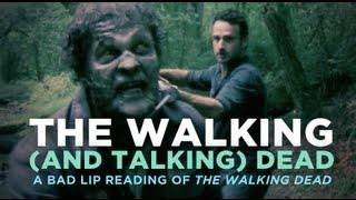 """The Walking (And Talking) Dead"" — A Bad Lip Reading of The Walking Dead"
