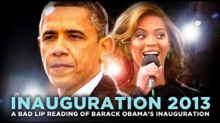 """Inauguration 2013: A Bad Lip Reading: — A Bad Lip Reading of Barack Obama's Inauguration"
