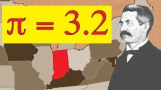 How Pi was nearly changed to 3.2 - Numberphile