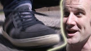 Super-fast way to tie Shoelaces - Numberphile
