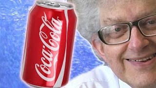 Can of Coke in Liquid Nitrogen - Periodic Table of Videos