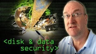 Security of Data on Disk - Computerphile