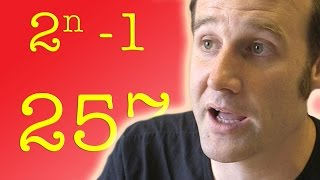 Perfect Numbers and Mersenne Primes - Numberphile