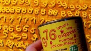Spaghetti Numbers - Numberphile