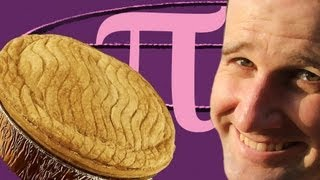 Calculating Pi with Real Pies - Numberphile