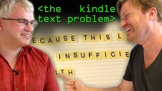 The Kindle Text Problem - Computerphile
