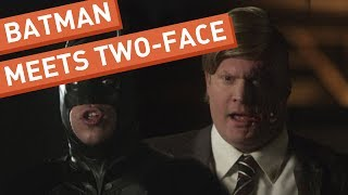 Batman Meets Two-Face