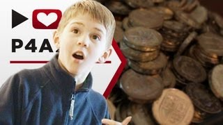 Kids get their money - Numberphile