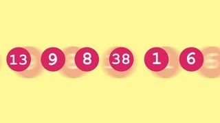 13,983,816 and the Lottery - Numberphile
