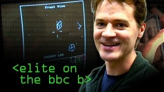 Original Elite on the BBC B - Computerphile