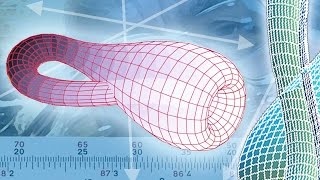 How to make a Klein Bottle (in three dimensions) - Numberphile