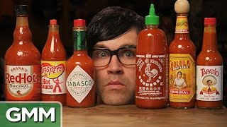 The Blind Hot Sauce Taste Test