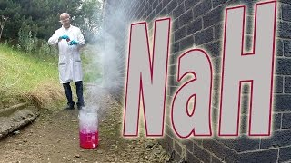 Sodium Hydride (SLOW MOTION) - Periodic Table of Videos