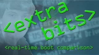 EXTRA BITS - Hacktop Real-Time Boot Comparison - Computerphile