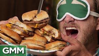 Blind Burger Challenge