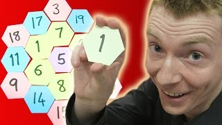Magic Hexagon - Numberphile