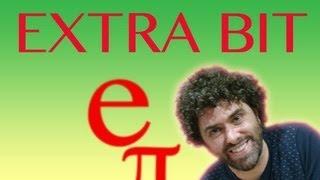 Transcendental Numbers (extra footage) - Numberphile