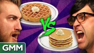 Waffle Vs. Pancake - Debate-O-Rama