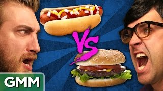 Hot Dogs vs. Hamburgers: Debate-o-Rama