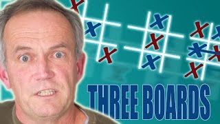 Secrets of 3-Board Tic-Tac-Toe - Numberphile